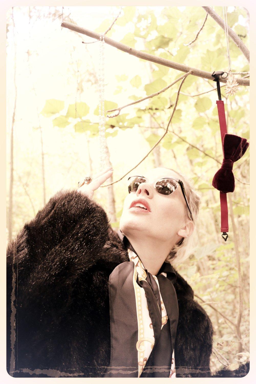 Peep Eyewear, Vintage Sunglasses, Iris, 1950s, Autumn Winter Collection