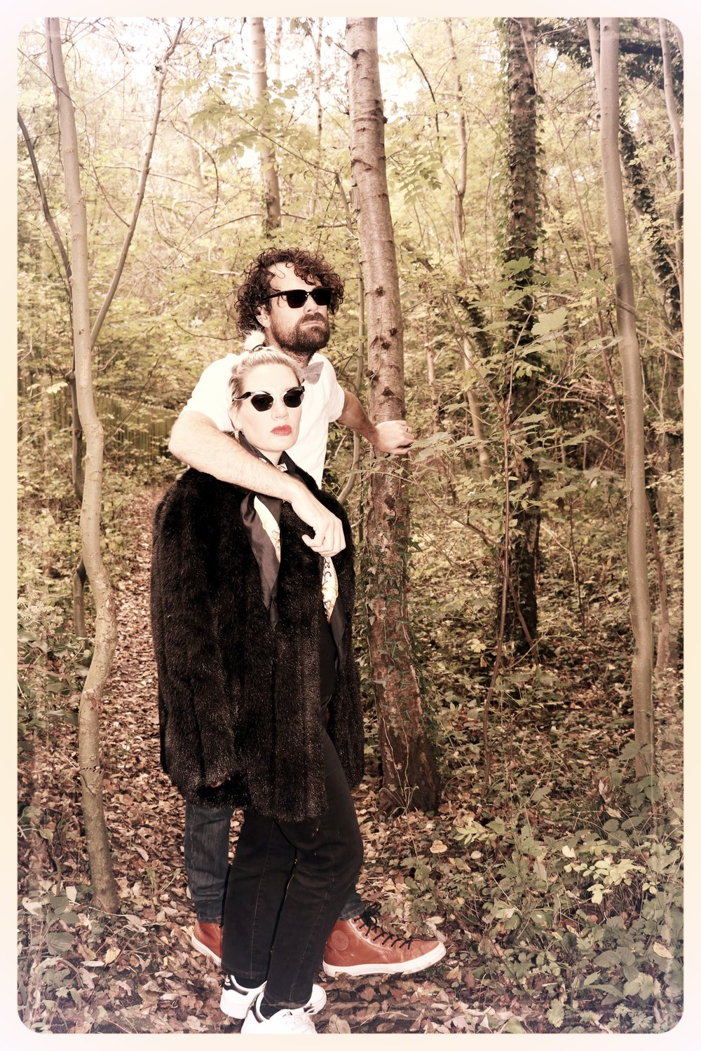 Peep Eyewear, Vintage Sunglasses, Worn in the woods, Autumn Winter Collection