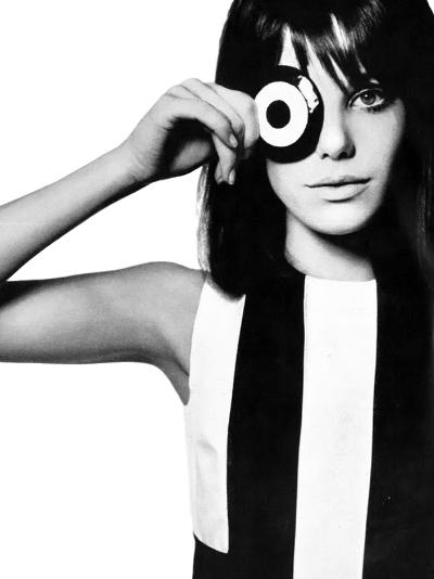 Vintage Jane Birkin Photo David Bailey Vogue  1965