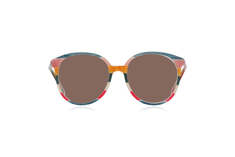 Peep Eyewear, Vintage Glasses, 1980s, Silk, Oversize Front View Brown Lenses.png