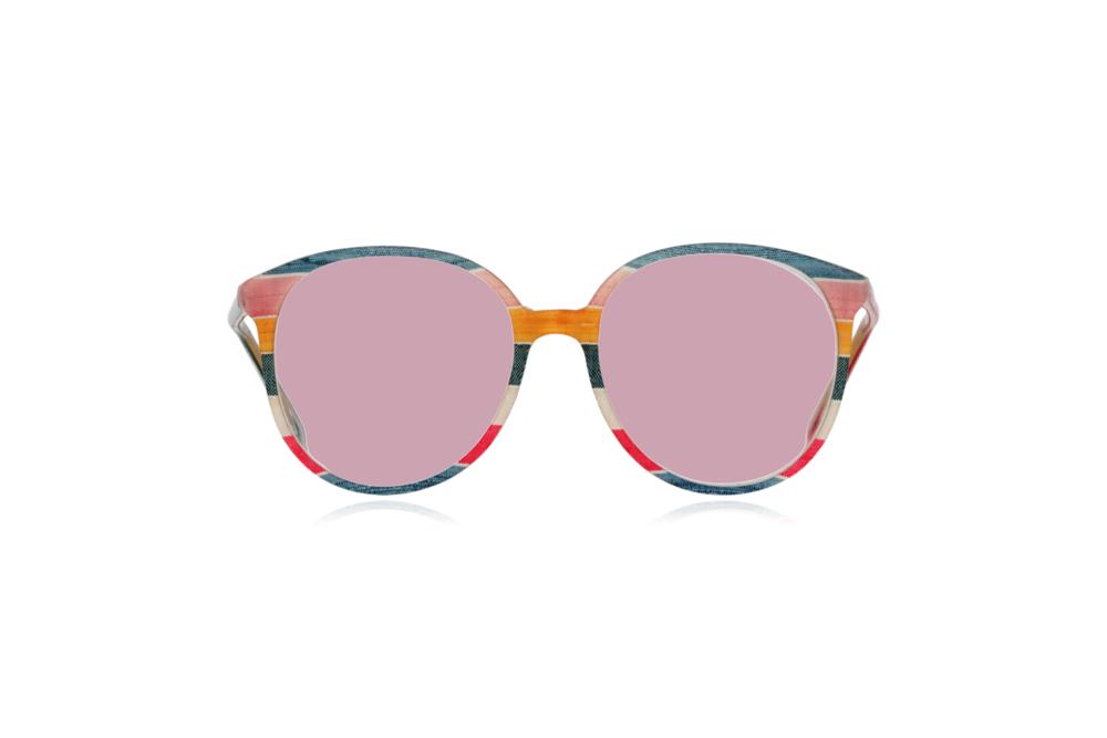 Peep Eyewear, Vintage Glasses, 1980s, Silk, Oversize Front View Pink Lenses.png