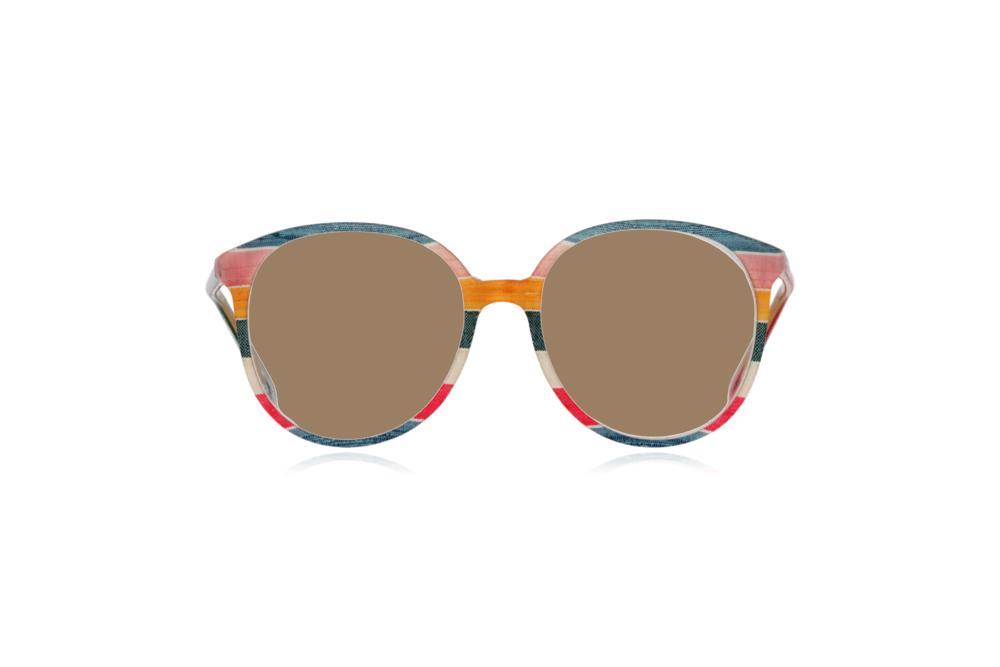 Peep Eyewear, Vintage Glasses, 1980s, Silk, Oversize Front View Sahara Lenses.png