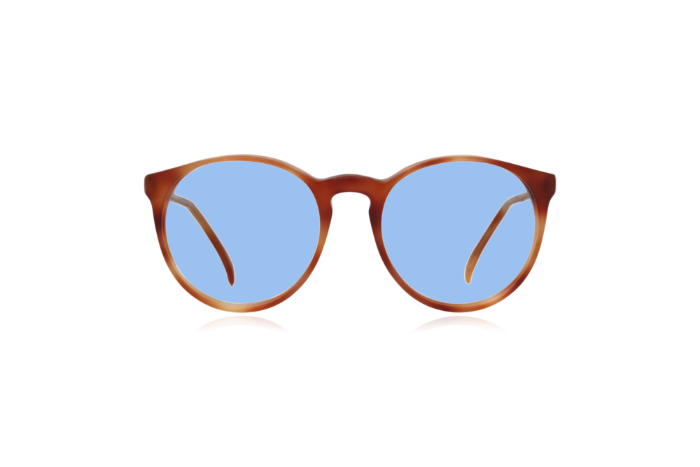 Peep Eyewear, Morel Model 2730 Vintage Glasses, 1980s, Blue Lenses.png