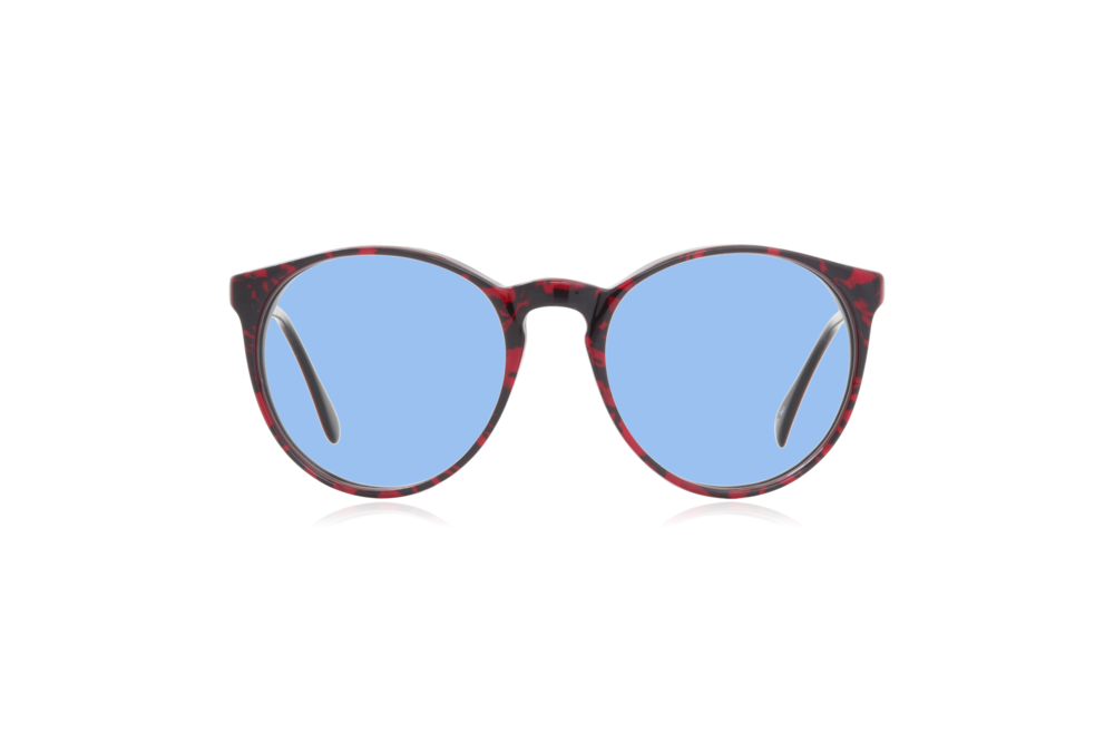 Peep Eyewear, Vintage Glasses, 1980s, Morel 2730, Blue Lenses.png