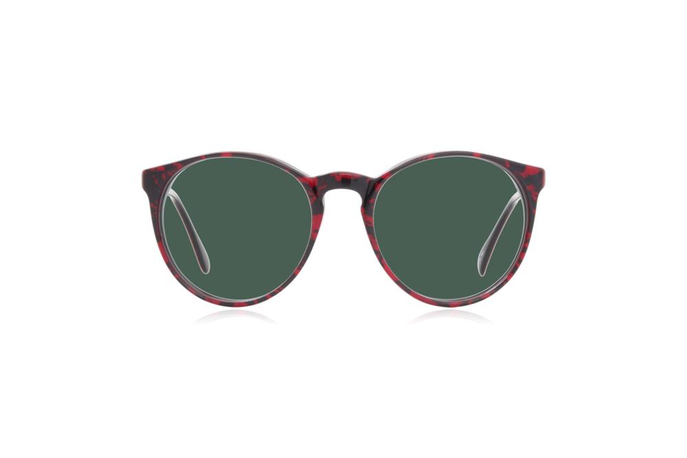 Peep Eyewear, Vintage Glasses, 1980s, Morel 2730, Green Lens.png