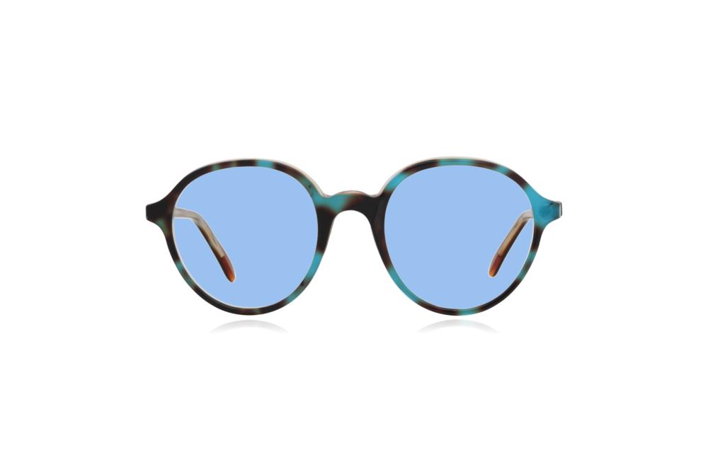 Peep Eyewear, Vintage Glasses, Anglo American, England, Blue Lenses.png