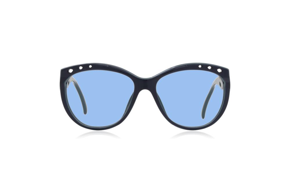 Peep Eyewear, Vintage Glasses, 1980s, Saphira, Blue Lenses.png