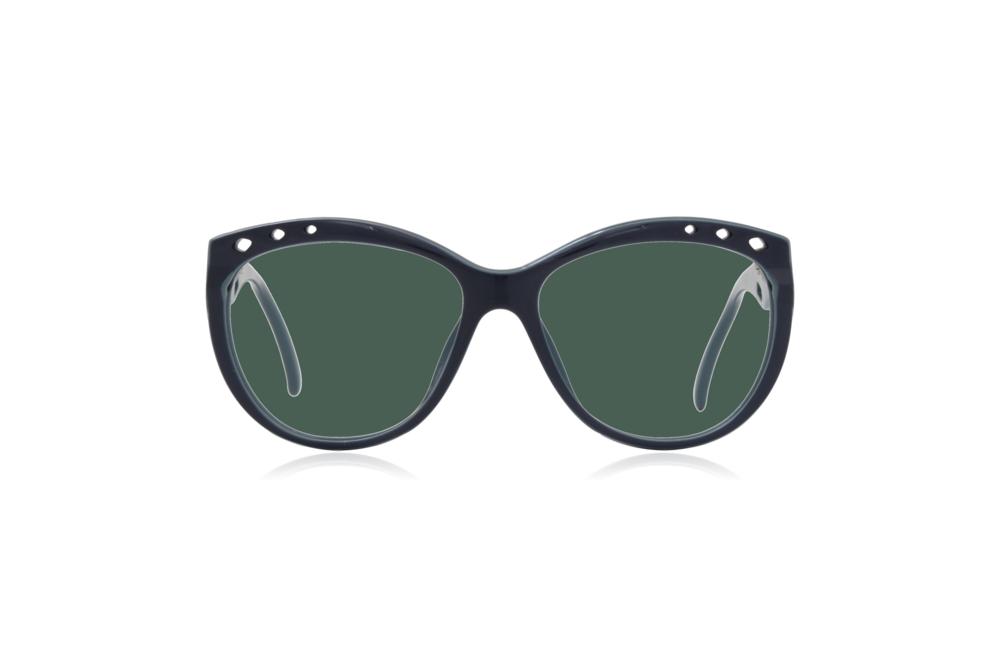 Peep Eyewear, Vintage Glasses, 1980s, Saphira, Green Lenses.png