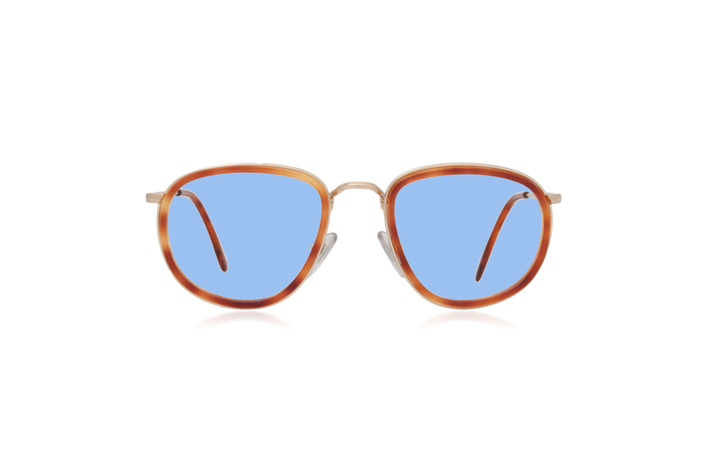 Peep Eyewear, Oversize, Vintage Glasses, French, Couture 9757, Blue Lenses.png