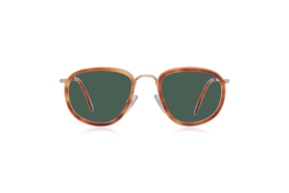Peep Eyewear, Oversize, Vintage Glasses, French, Couture 9757, Green Lenses.png