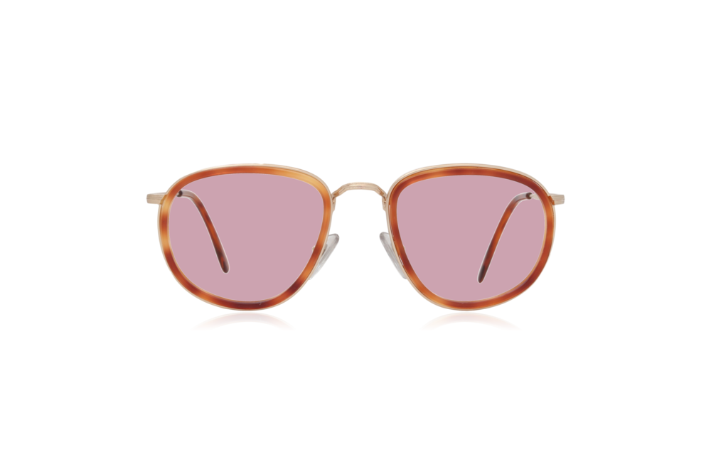 Peep Eyewear, Oversize, Vintage Glasses, French, Couture 9757, Pink Lenses.png