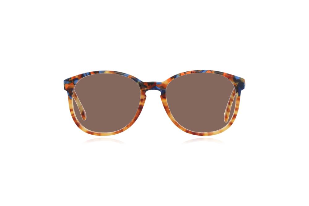 Peep Eyewear, Vintage Glasses, 1980s, Cambridge, CC17, Col 1 Brown.png