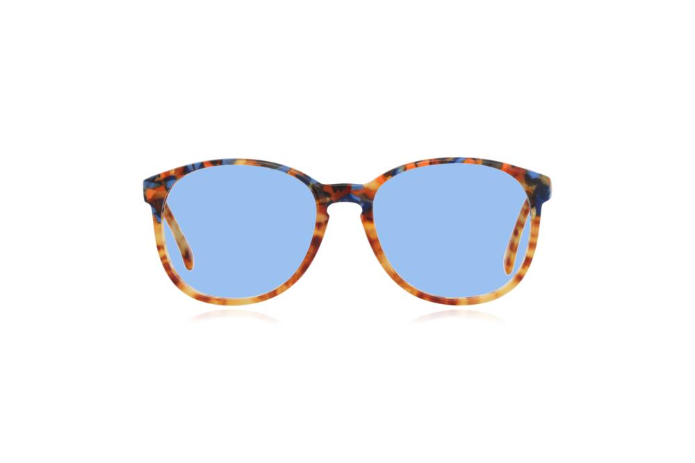 Peep Eyewear, Vintage Glasses, 1980s, Cambridge, CC17, Col 1 Blue.png