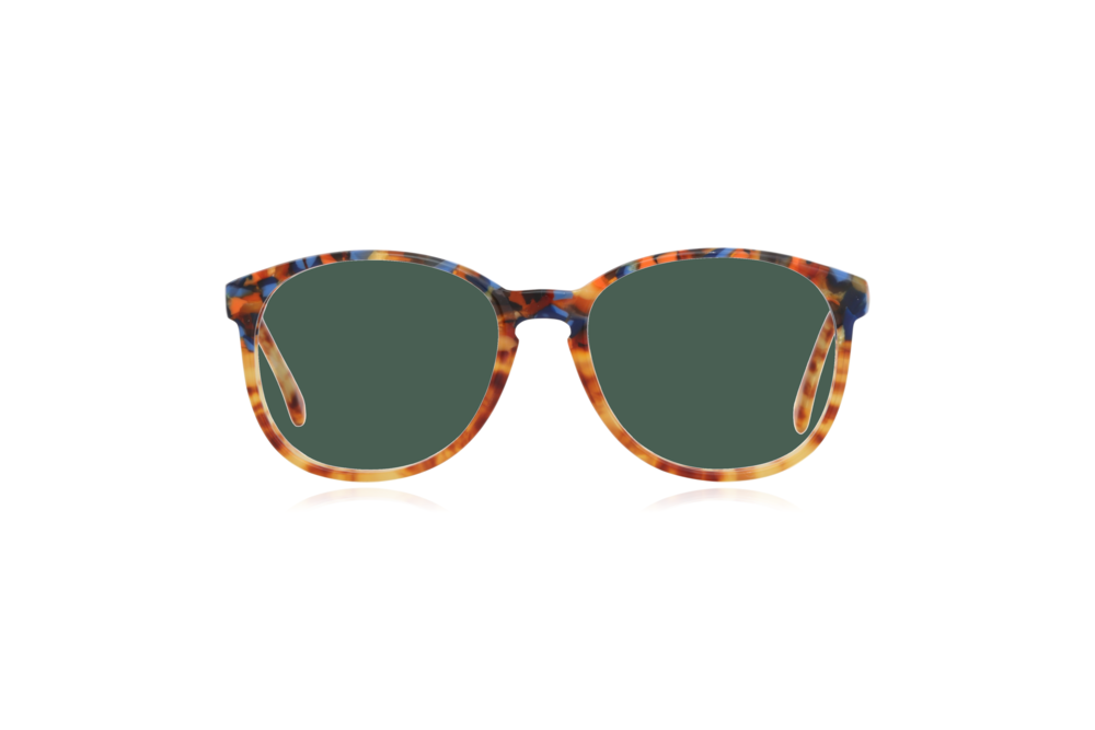 Peep Eyewear, Vintage Glasses, 1980s, Cambridge, CC17, Col 1 Green.png