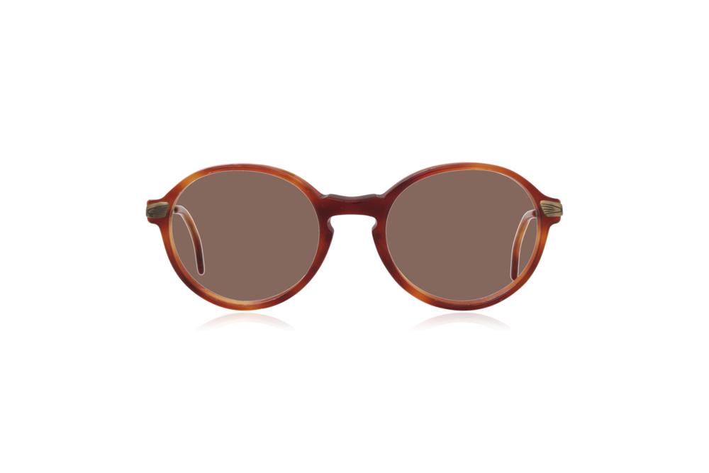 Peep Eyewear, Vintage Glasses, Polo Ralph Lauren 508, Round Brown.png