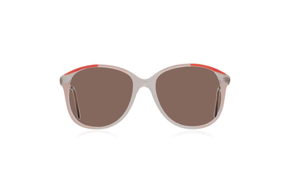 Peep Eyewear, Vintage Glasses, 1980s Oversize Frames, Brown Lenses.png