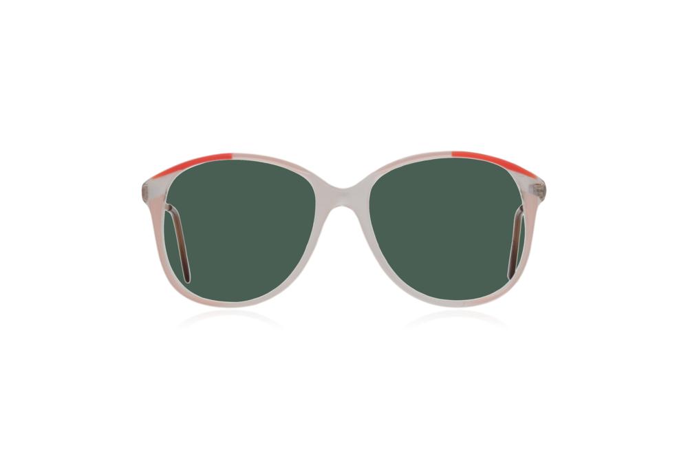 Peep Eyewear, Vintage Glasses, 1980s Oversize Frames, Green Lenses.png