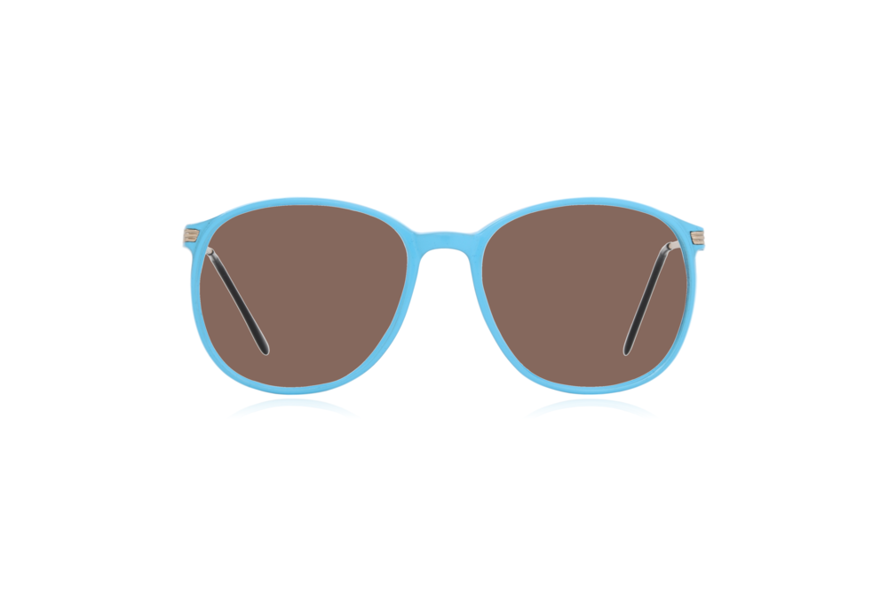 Peep Eyewear, Blue, Carbon, Vintage Glasses, 1980s, Italy, Clipwell, Brown.png