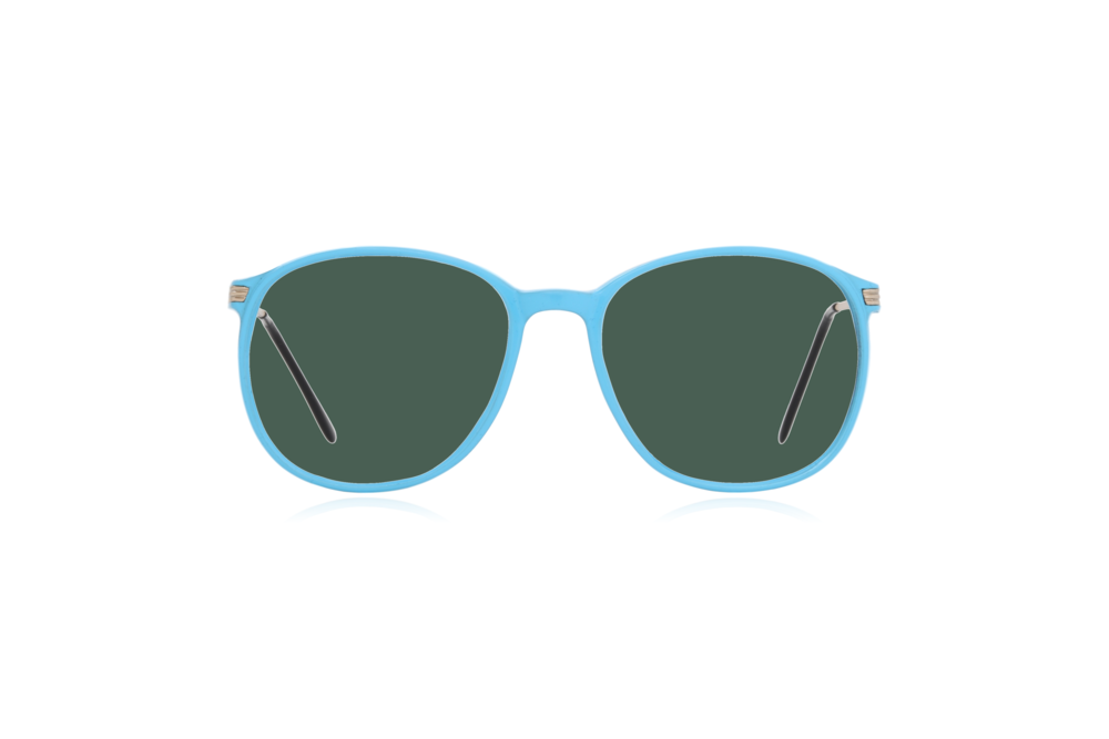 Peep Eyewear, Blue, Carbon, Vintage Glasses, 1980s, Italy, Clipwell, Green.png