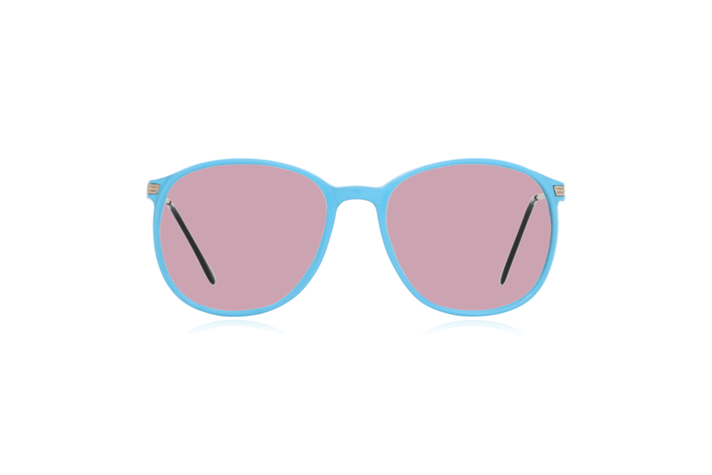 Peep Eyewear, Blue, Carbon, Vintage Glasses, 1980s, Italy, Clipwell, Pink.png