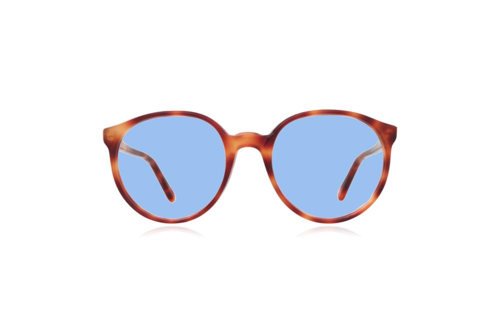 Peep Eyewear, Vintage Glasses, 1980s, Bonnie, Tort, Blue.png