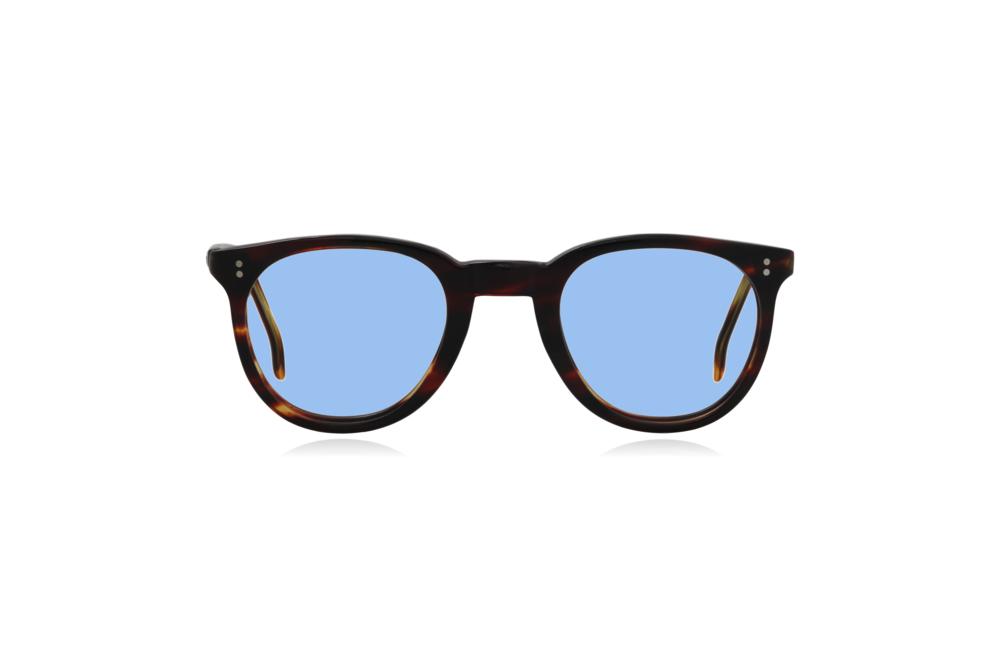 Peep Eyewear, Vintage Glasses, 1950s, Connie, Tort, Round Eye, Blue.png