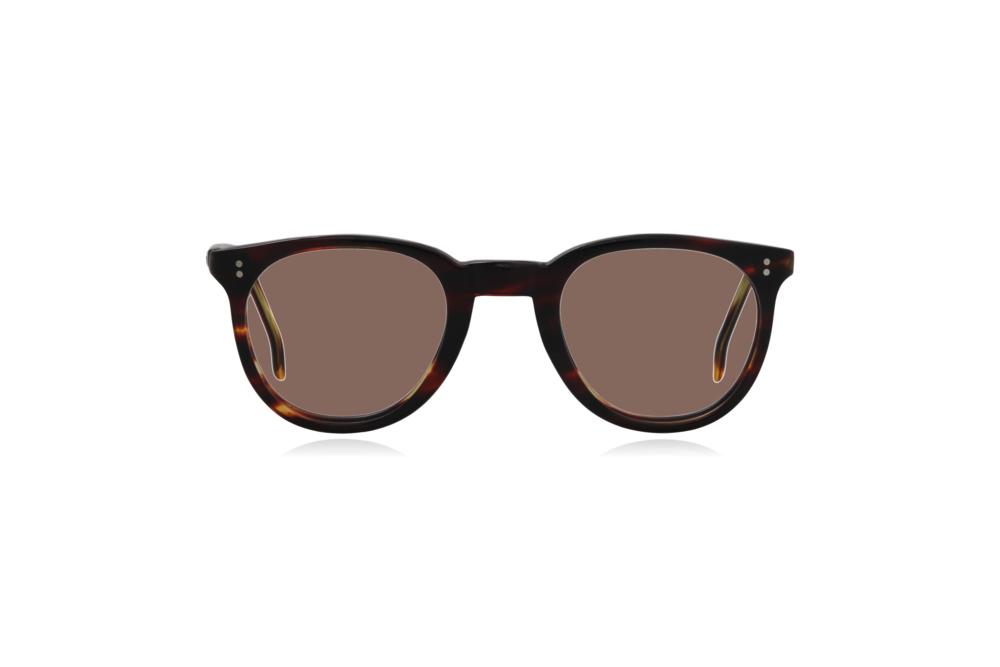 Peep Eyewear, Vintage Glasses, 1950s, Connie, Tort, Round Eye, Brown.png