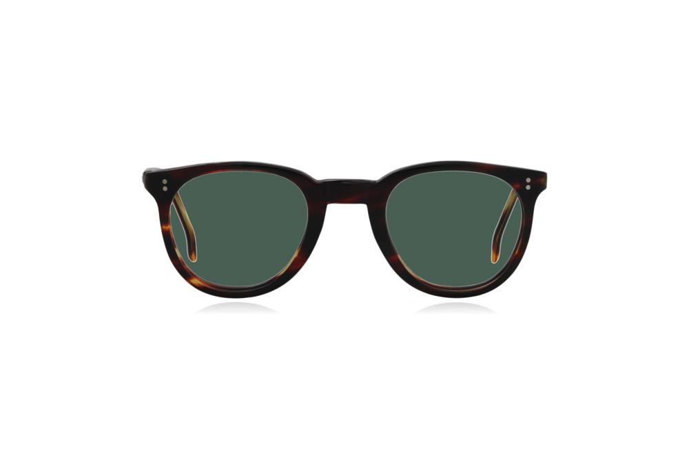 Peep Eyewear, Vintage Glasses, 1950s, Connie, Tort, Round Eye, Green.png