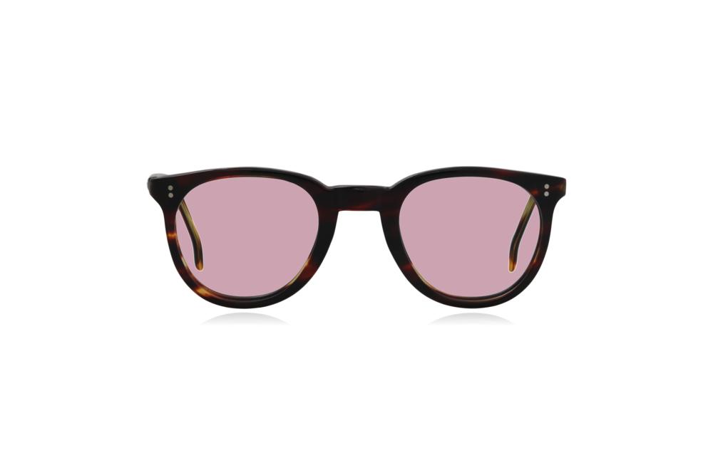 Peep Eyewear, Vintage Glasses, 1950s, Connie, Tort, Round Eye, Pink.png
