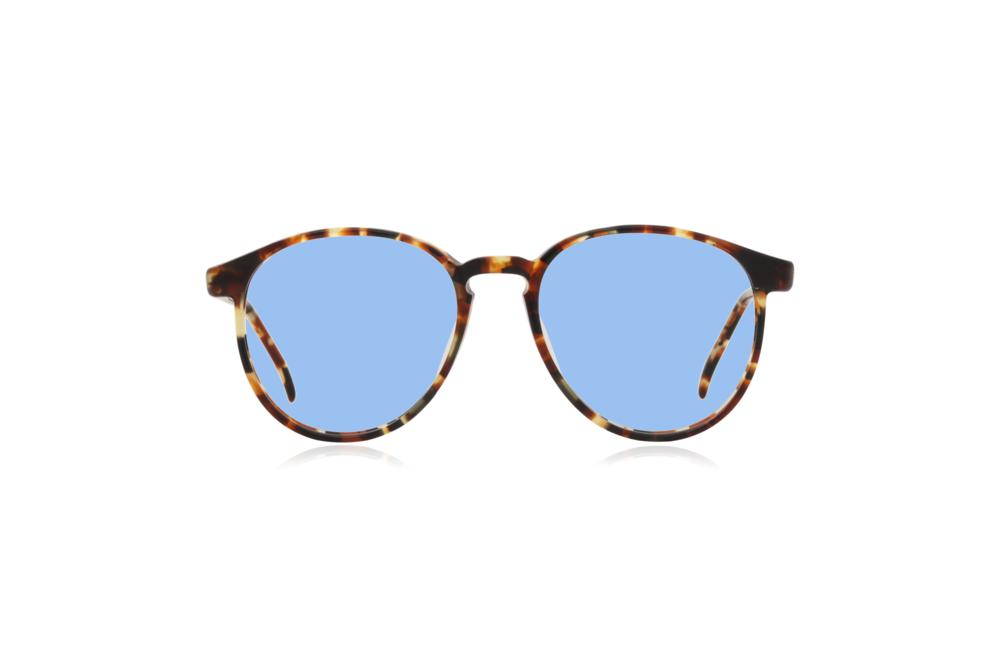 Peep Eyewear, Vintage Glasses, Round Eye, Tort, Yale, Fine, Blue.png