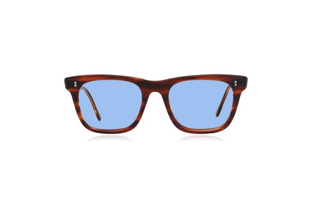 Peep Eyewear, Vintage Glasses, Major Geek Frames, 50s, Tort, Square, Blue.png