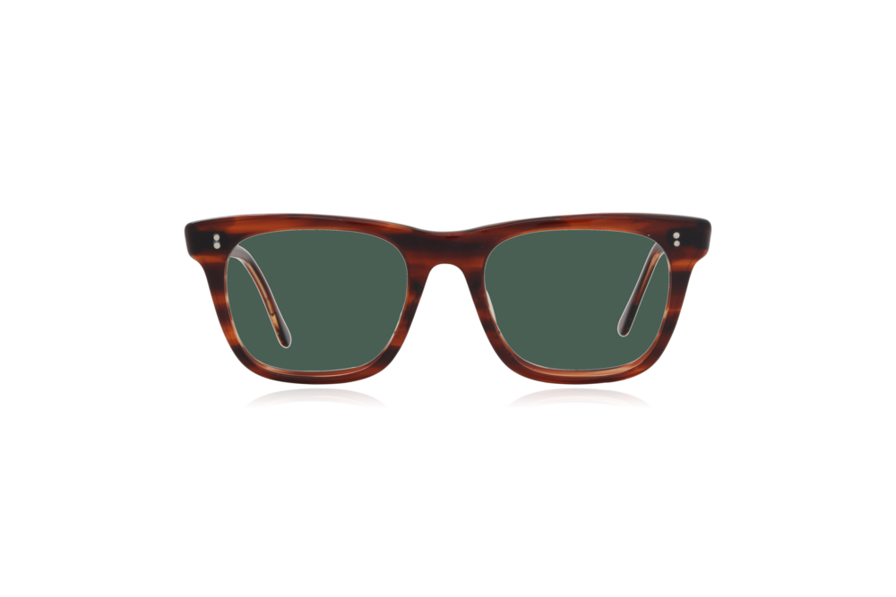 Peep Eyewear, Vintage Glasses, Major Geek Frames, 50s, Tort, Square, Green.png