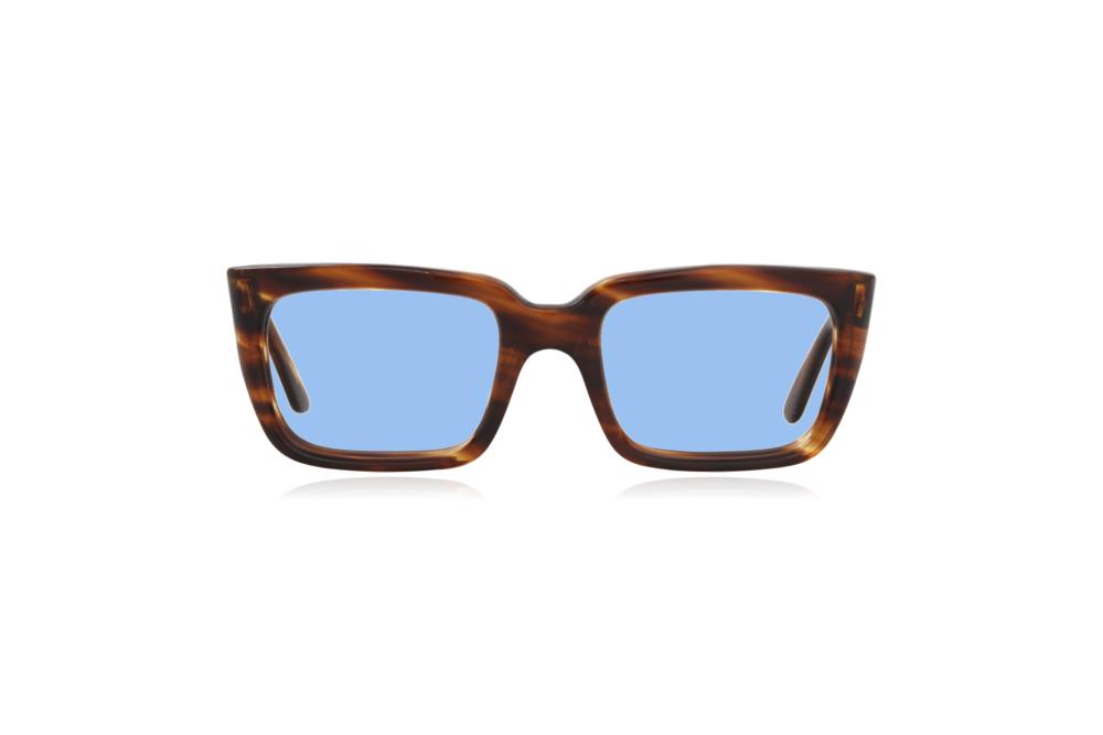 Peep Eyewear, Vintage Glasses, Hadley, England, 1950s, Tort, Blue.png