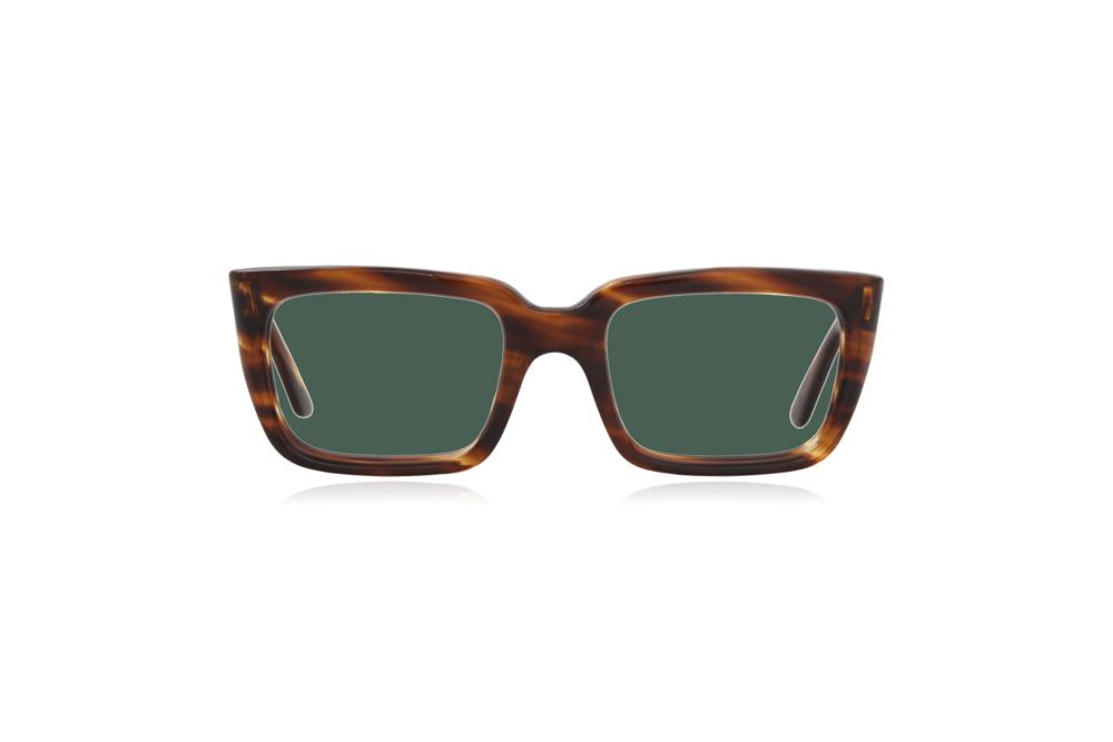 Peep Eyewear, Vintage Glasses, Hadley, England, 1950s, Tort, Green.png