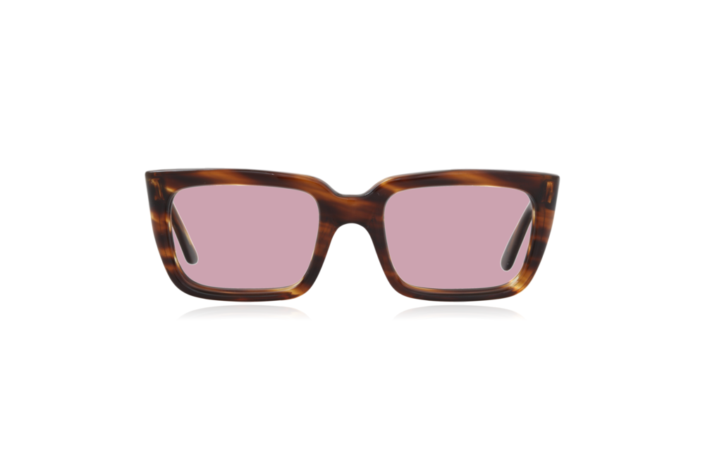 Peep Eyewear, Vintage Glasses, Hadley, England, 1950s, Tort, Pink.png