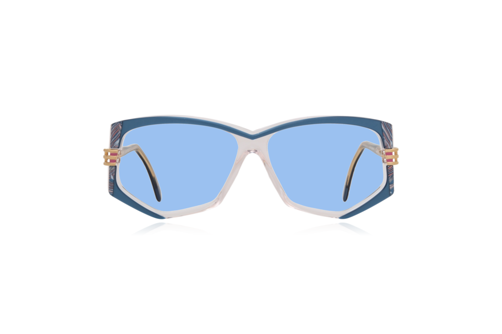 Peep Eyewear, Vintage Glasses, 80s, Cazal 322, German, Blue.png