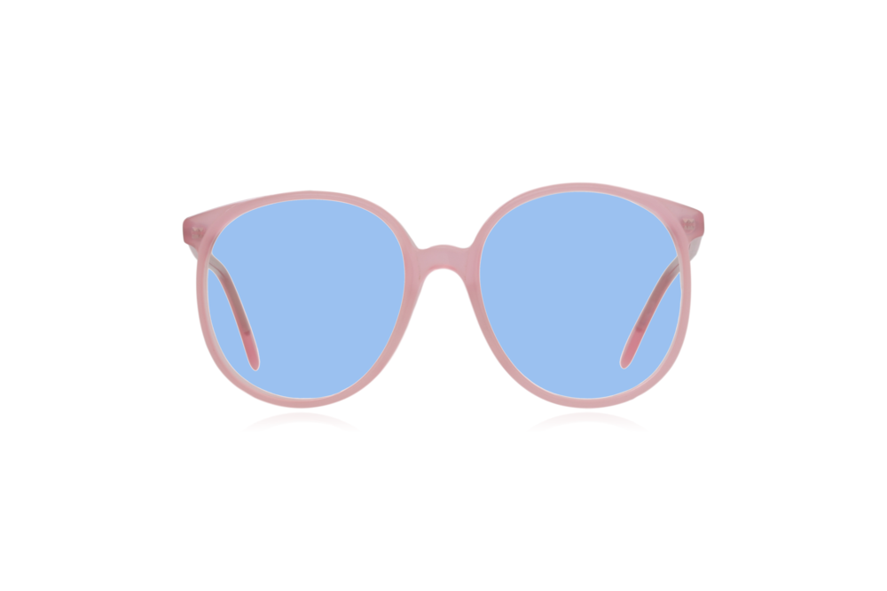 Peep Eyewear, Vintage Glasses, Anglo American, Pink, 80s, Oversize, Blue.png