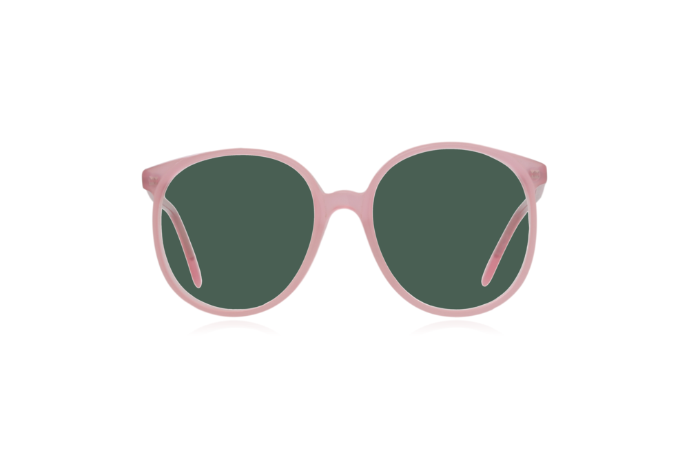 Peep Eyewear, Vintage Glasses, Anglo American, Pink, 80s, Oversize, Green.png