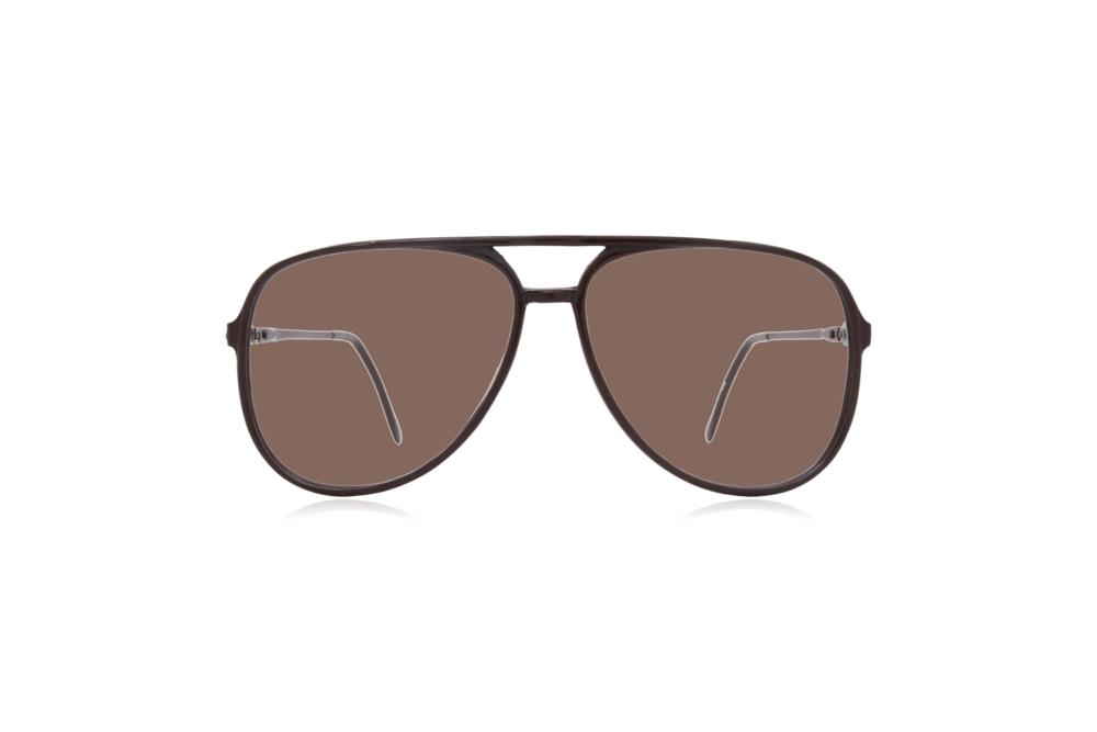 Peep Eyewear, Vintage Glasses, Aviator, 1980s, Black Carbon, Brown.png