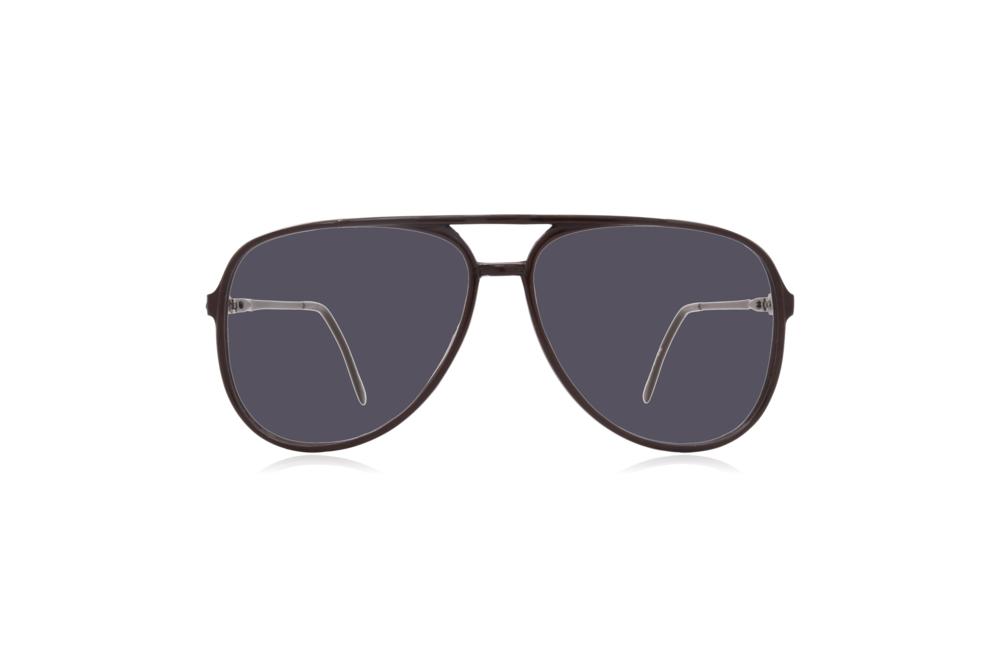 Peep Eyewear, Vintage Glasses, Aviator, 1980s, Black Carbon, Grey.png