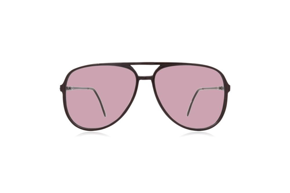 Peep Eyewear, Vintage Glasses, Aviator, 1980s, Black Carbon, Pink.png