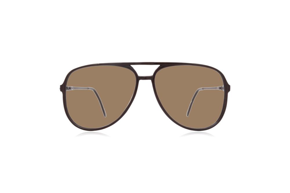 Peep Eyewear, Vintage Glasses, Aviator, 1980s, Black Carbon, Sahara.png
