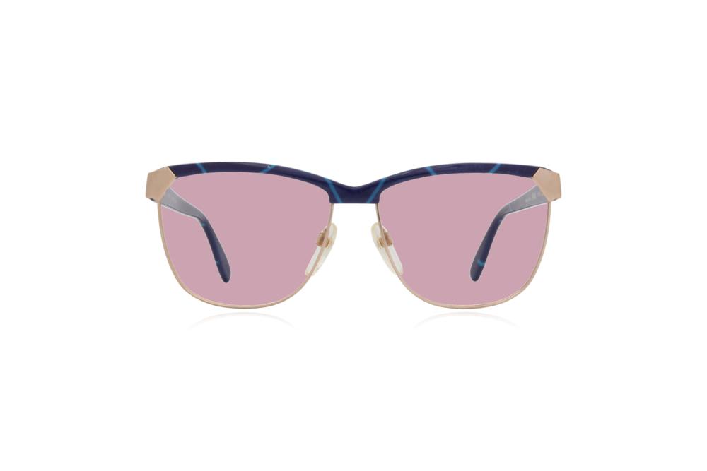 Peep Eyewear, Vintage Glasses, 80s, Silhouette 6090, Gold, Front, Pink.png