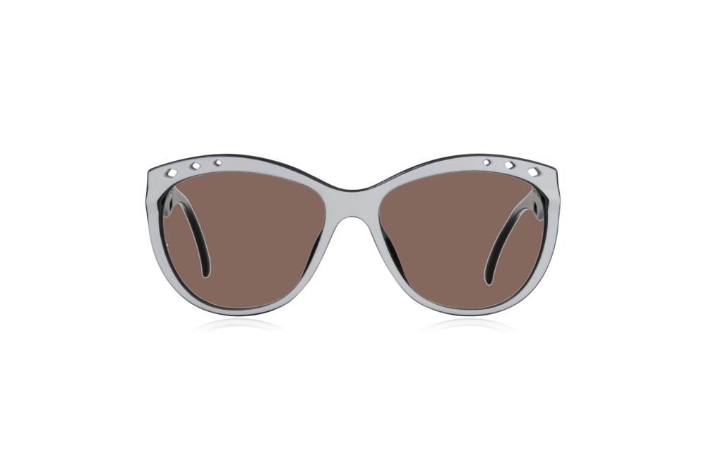 Peep Eyewear, Vintage Glasses, 80s, Saphira 4169, German, Front, Brown.png