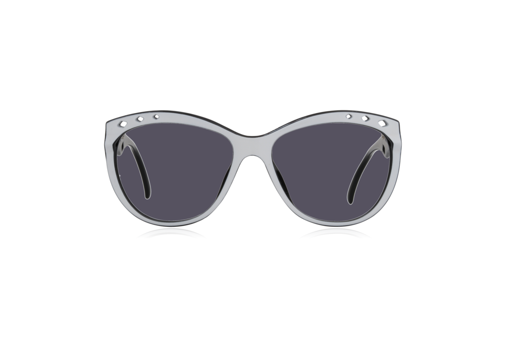 Peep Eyewear, Vintage Glasses, 80s, Saphira 4169, German, Front, Grey.png
