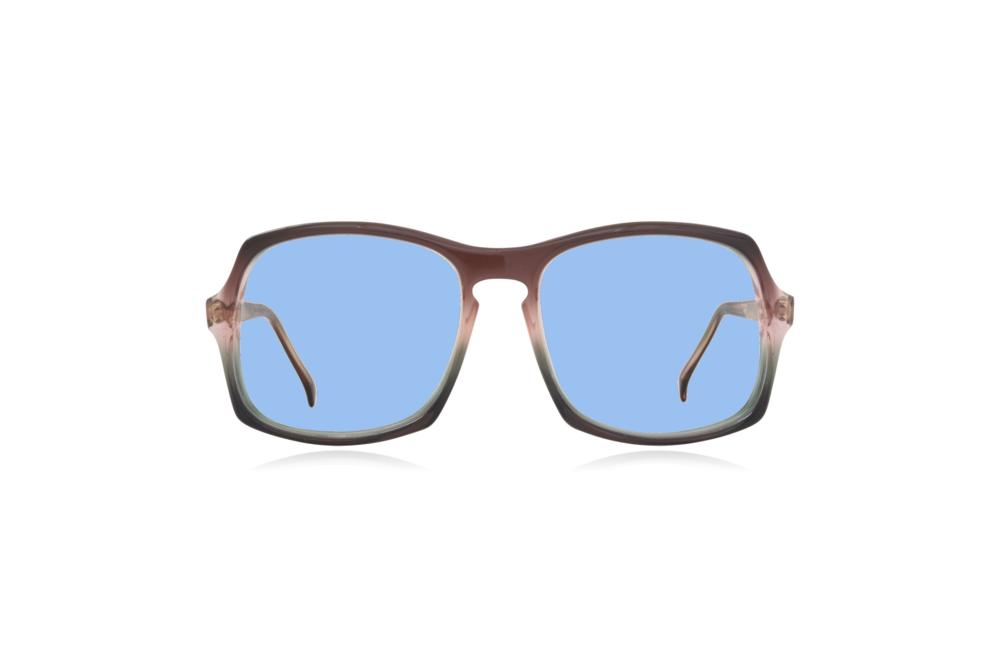 Peep Eyewear, Vintage Glasses, Vertex, Acetate, Front, Blue.png