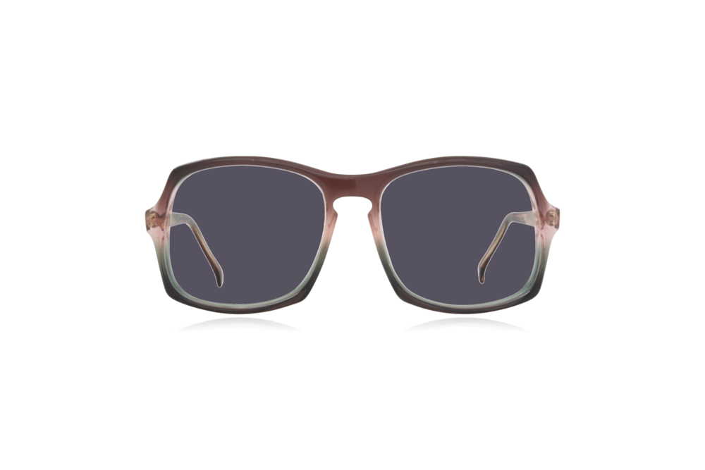 Peep Eyewear, Vintage Glasses, Vertex, Acetate, Front, Grey.png