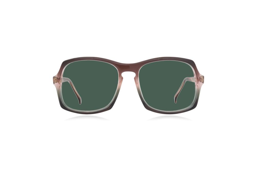 Peep Eyewear, Vintage Glasses, Vertex, Acetate, Front, Green.png