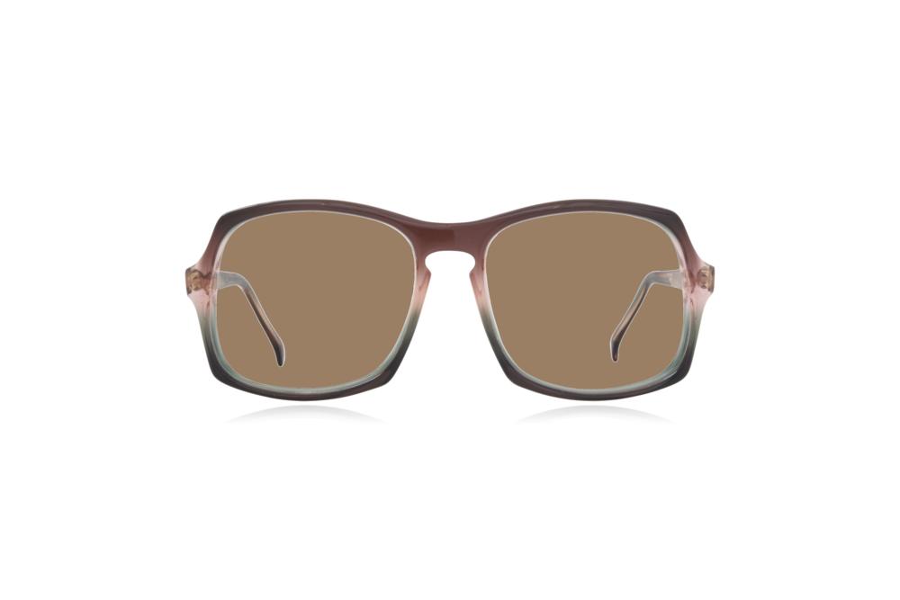 Peep Eyewear, Vintage Glasses, Vertex, Acetate, Front, Sahara.png