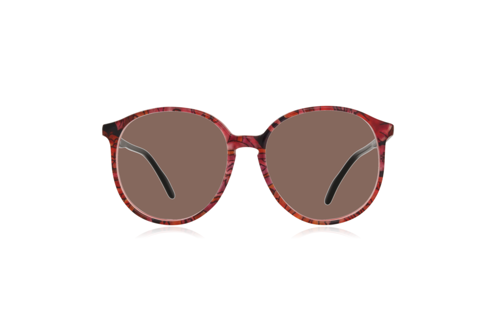 Peep Eyewear, Vintage Glasses, Couture 6261 Col V8, Front Brown.png